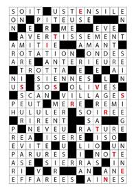 Ressource culture vie - Construire une grille de mots croises ...